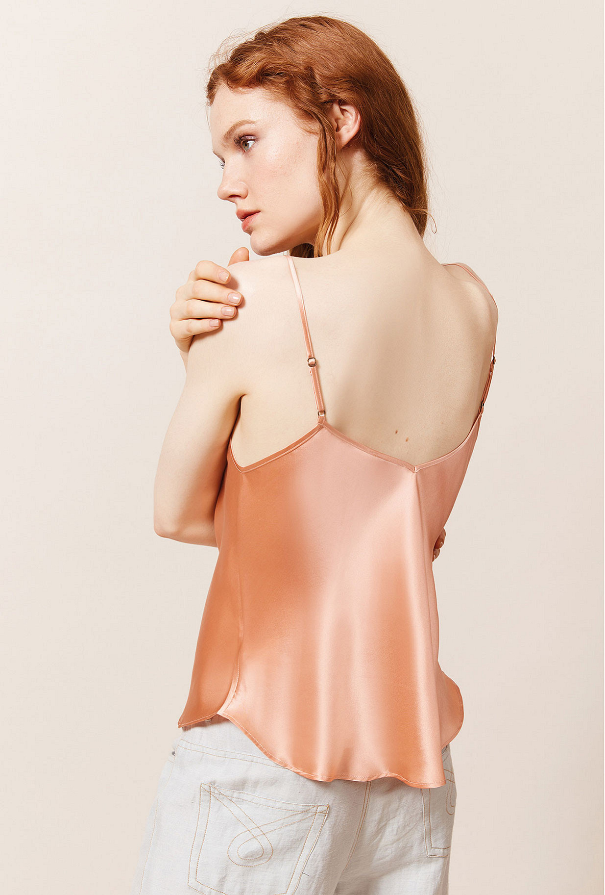 Top Genette Mes Demoiselles color Peach