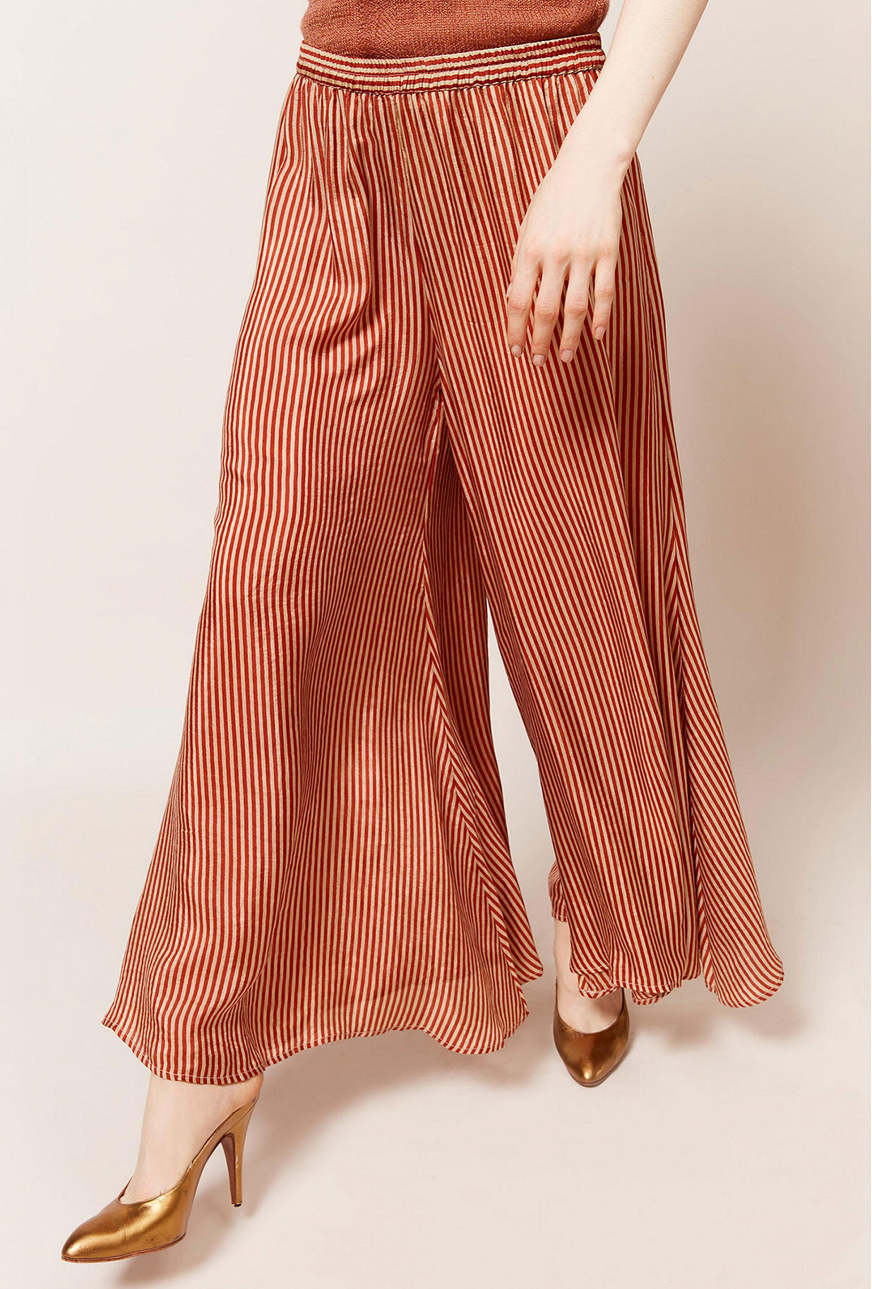 Pant Bonny Mes Demoiselles color Red stripe