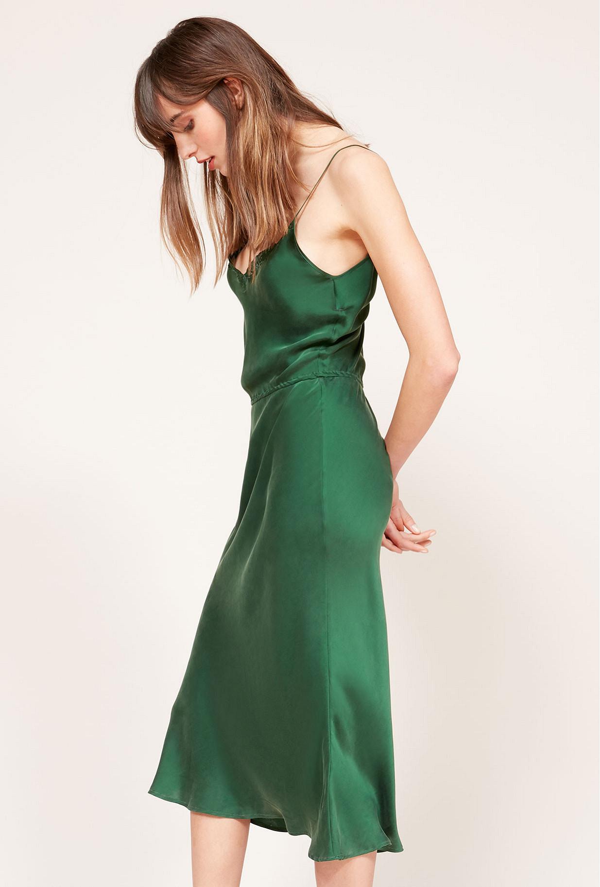 Green  Dress  Ana Mes demoiselles fashion clothes designer Paris