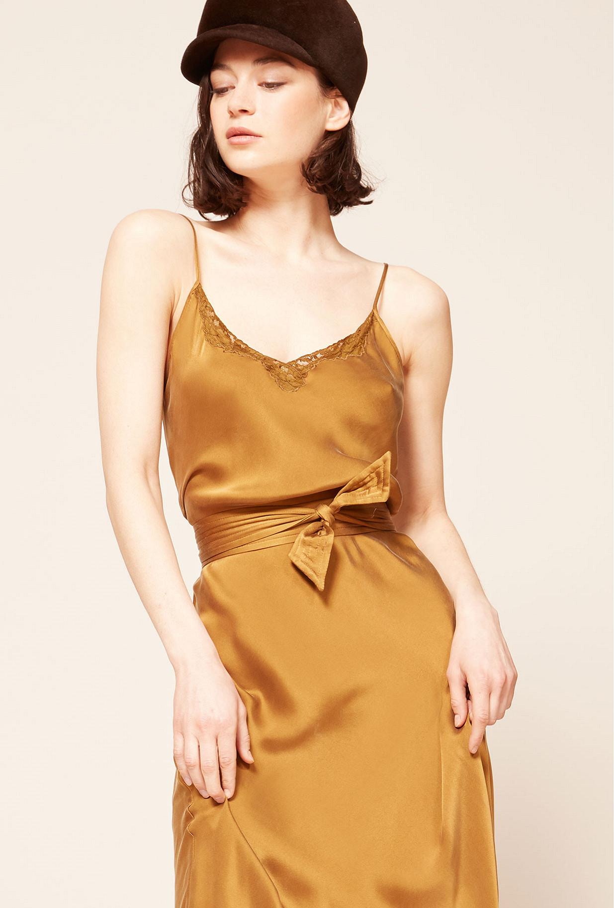 Ocre Dress Ana