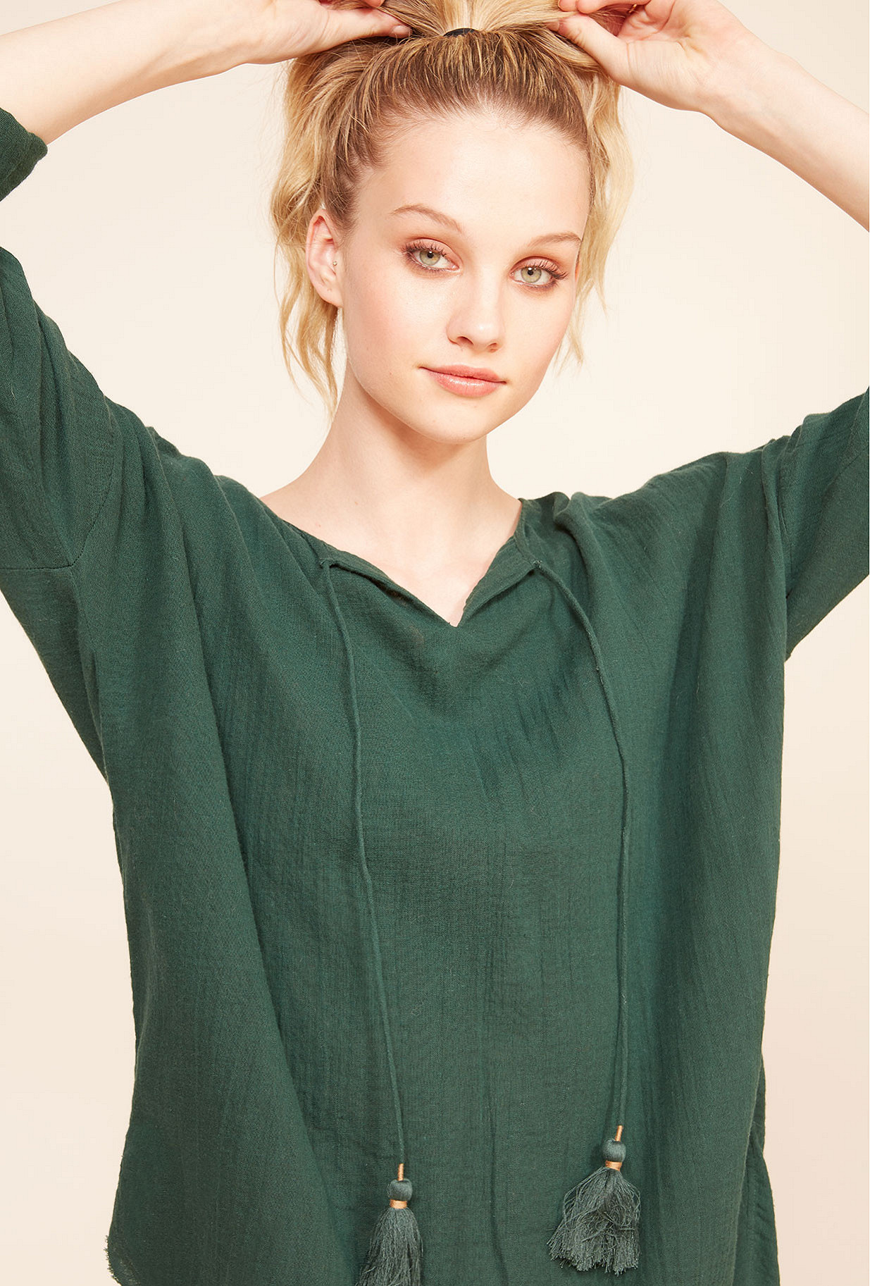 Blouse Vert  Digest mes demoiselles paris vêtement femme paris