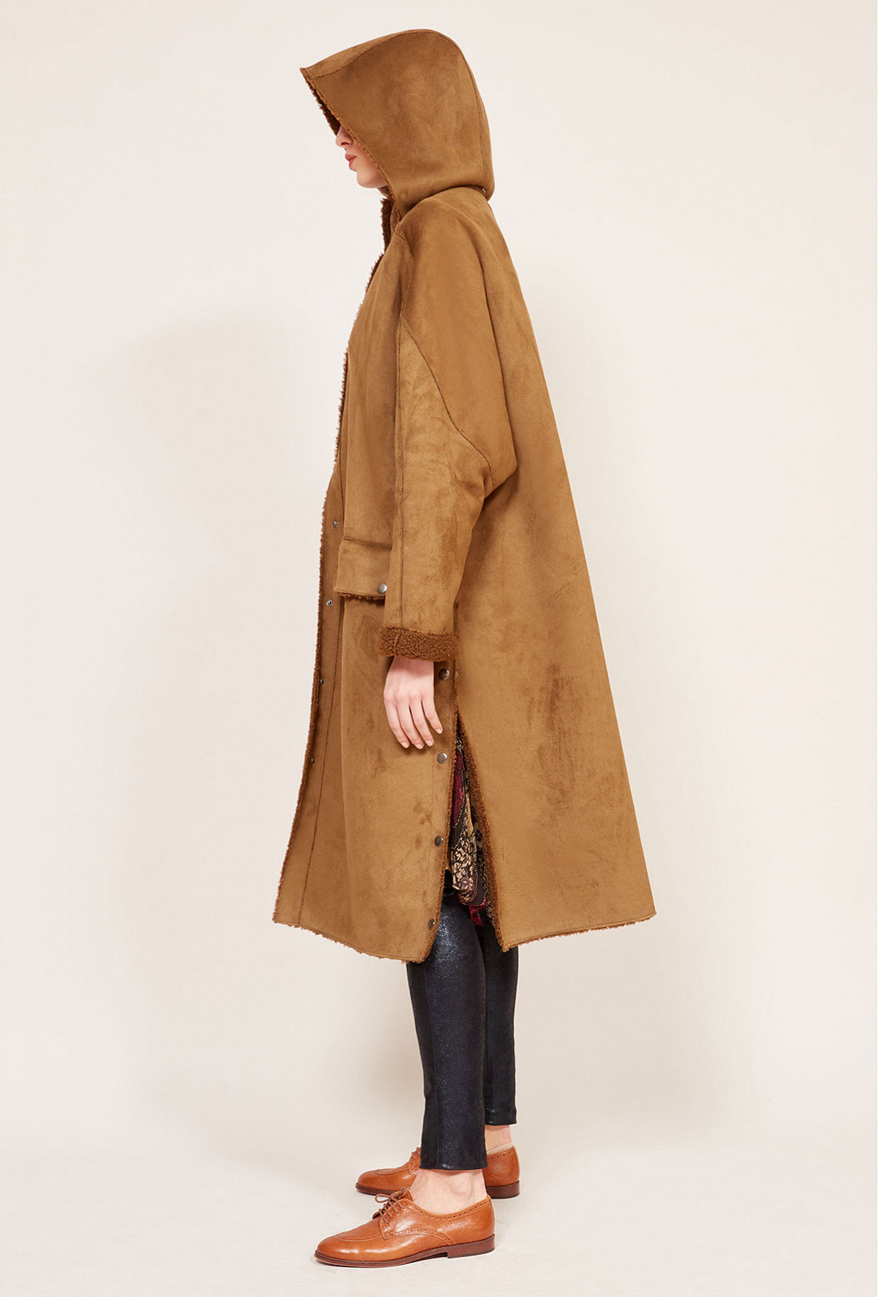 Khaki Coat Guerrillera Mes Demoiselles Paris