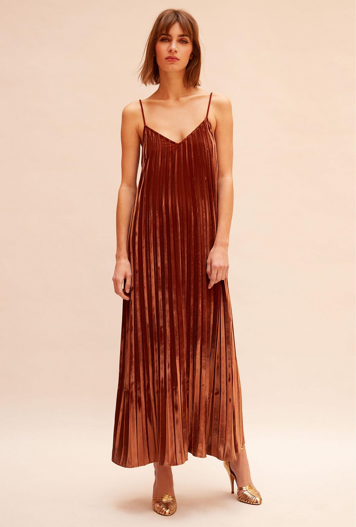 Nude  Dress  Maureen Mes demoiselles fashion clothes designer Paris