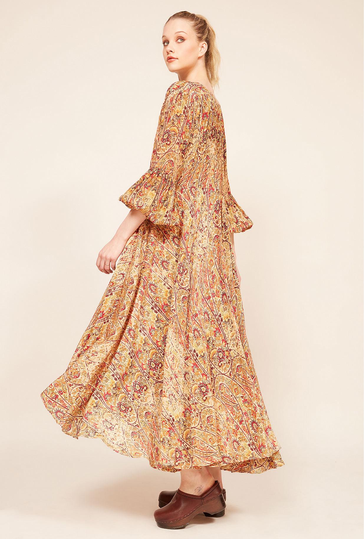Robe Imprimé fleuri  Passiflore mes demoiselles paris vêtement femme paris