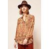 Paris boutique de mode vêtement Chemise créateur bohème  Peony