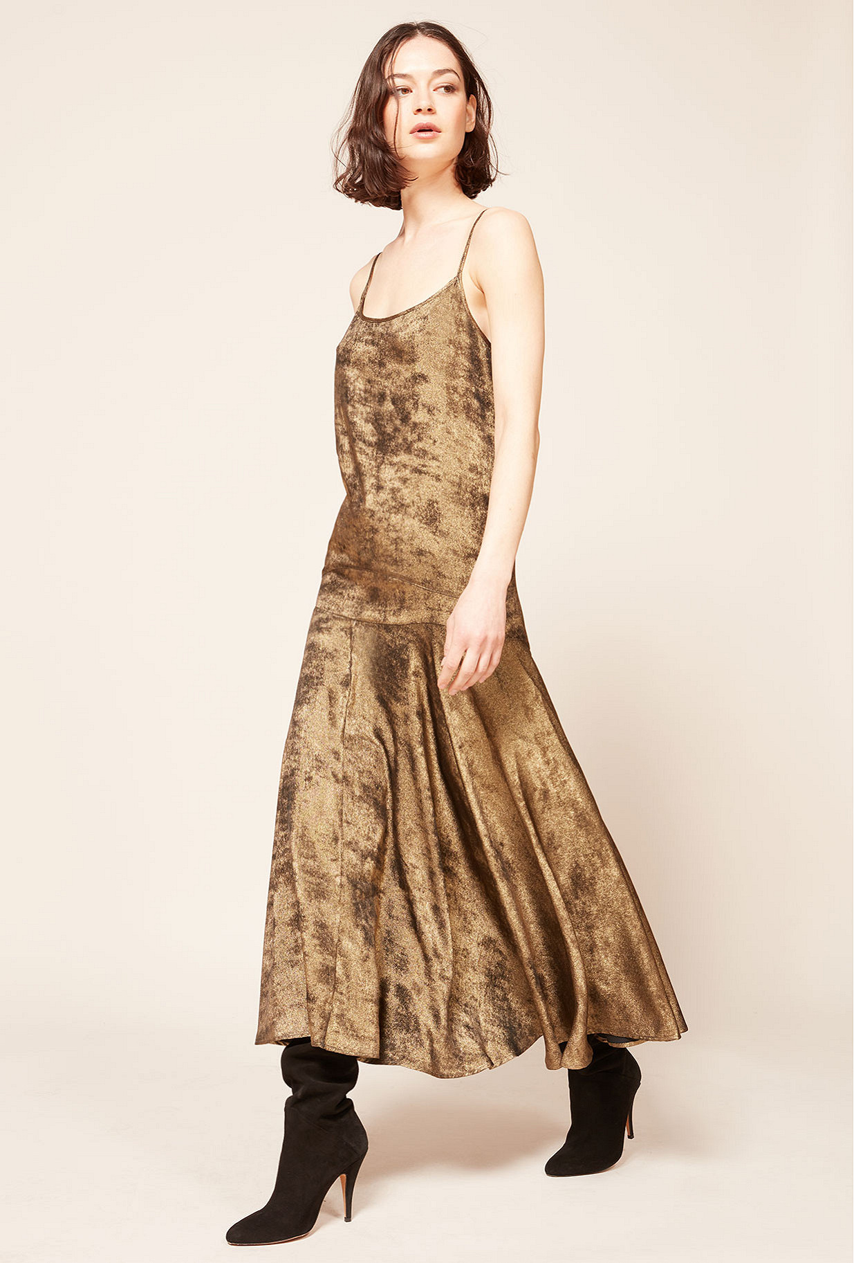 Bronze Dress Ginger Mes Demoiselles Paris