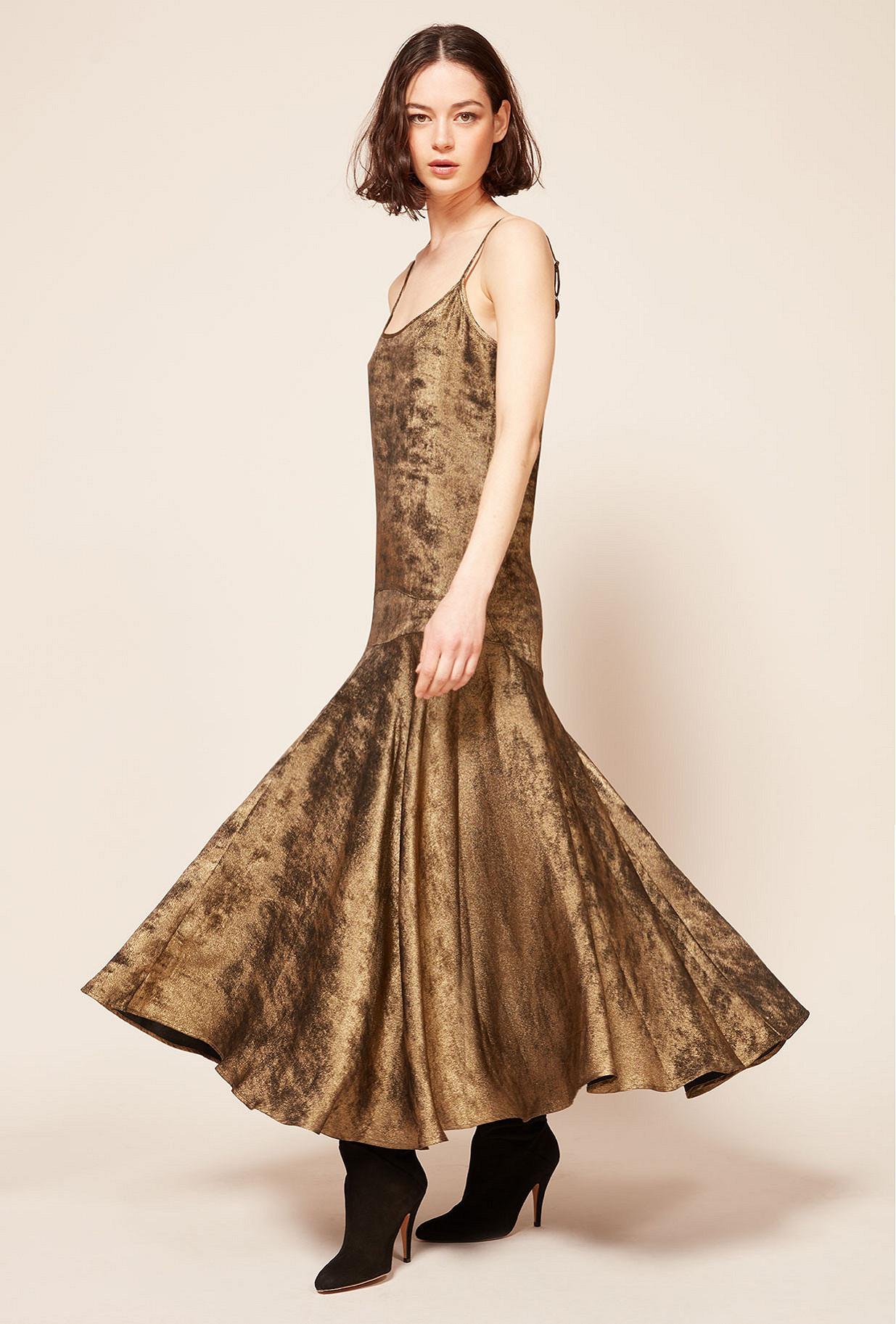 Robe Bronze  Ginger mes demoiselles paris vêtement femme paris