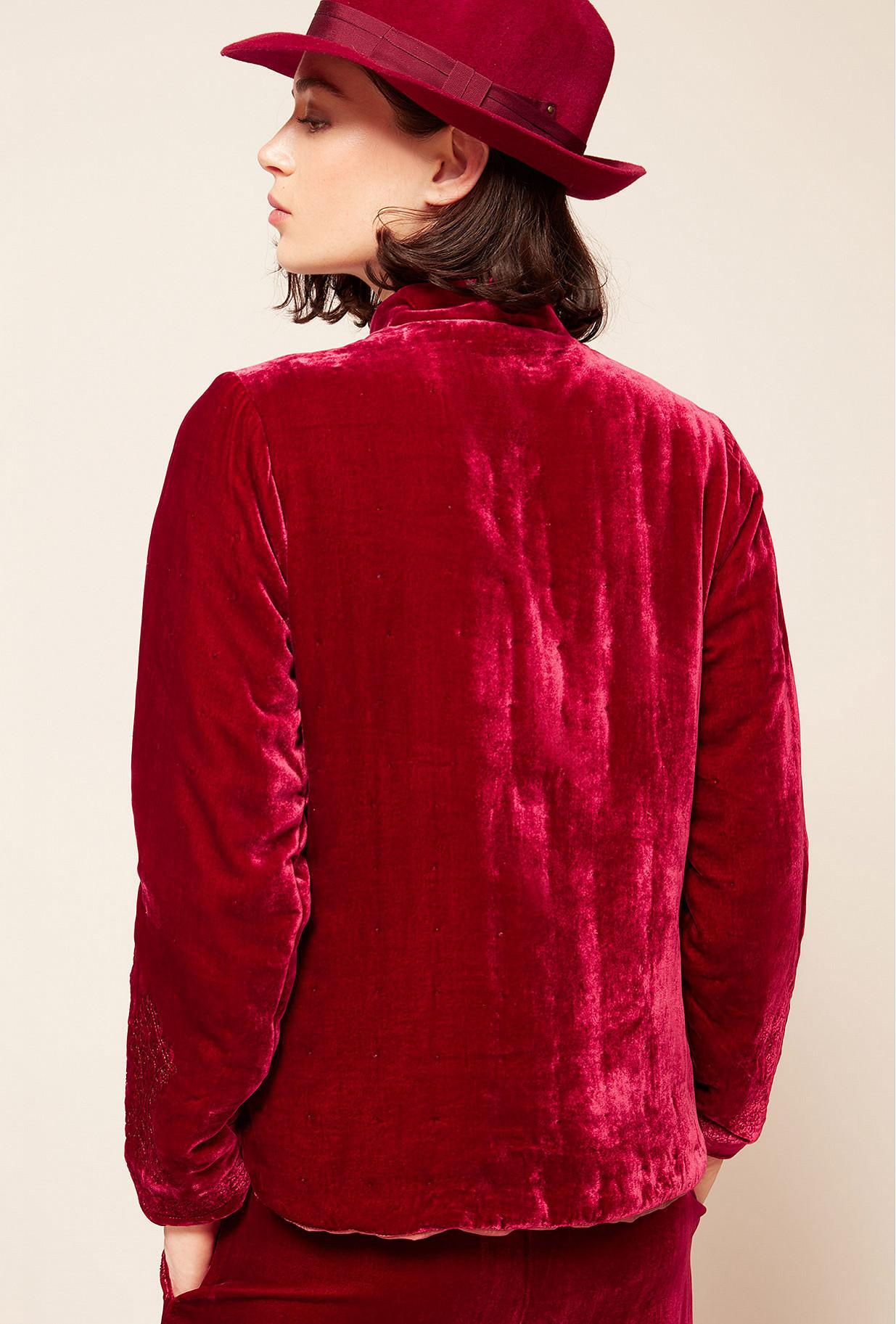 Veste Rouge  March mes demoiselles paris vêtement femme paris