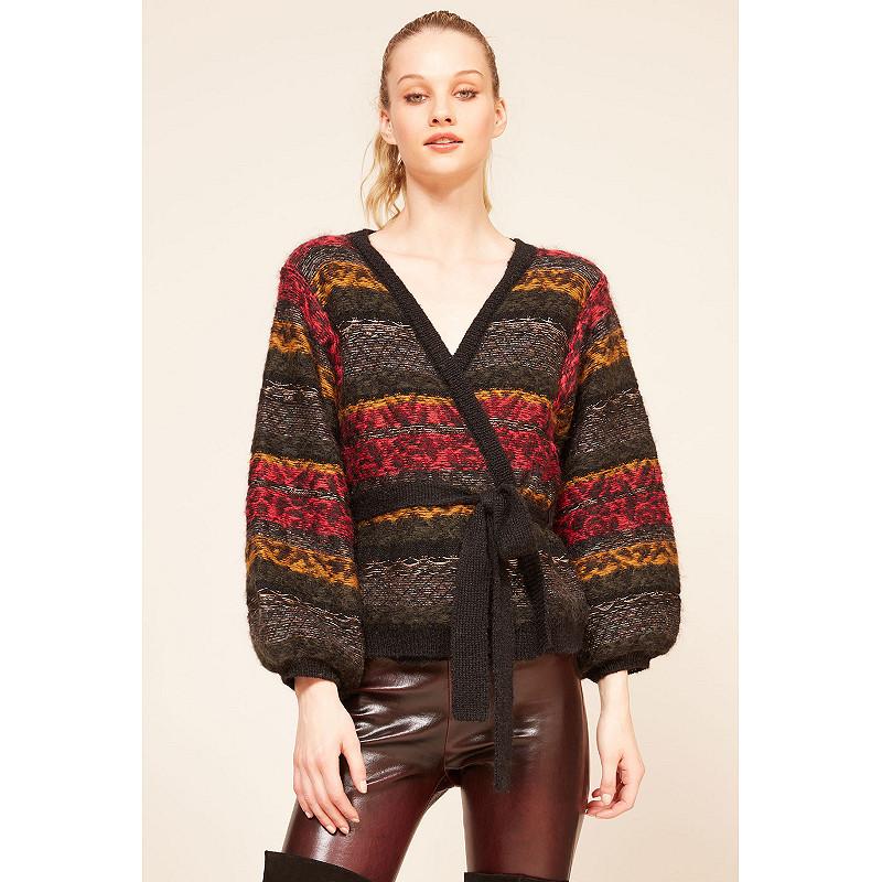 Paris clothes store Cardigan  Jean Paul french designer fashion Paris