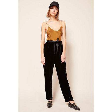 Womens Winter Black Pant Model Major Online Fashion Store Paris
