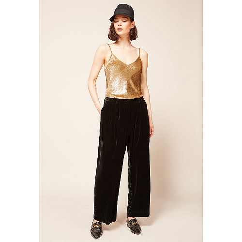 Black  pant  Mansfield Mes demoiselles fashion clothes designer Paris
