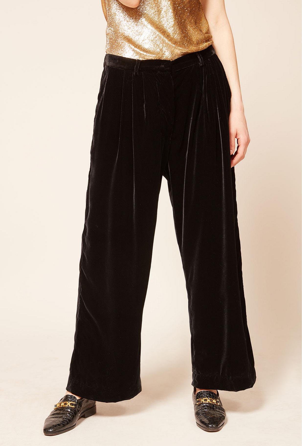 Pantalon Noir  Mansfield mes demoiselles paris vêtement femme paris