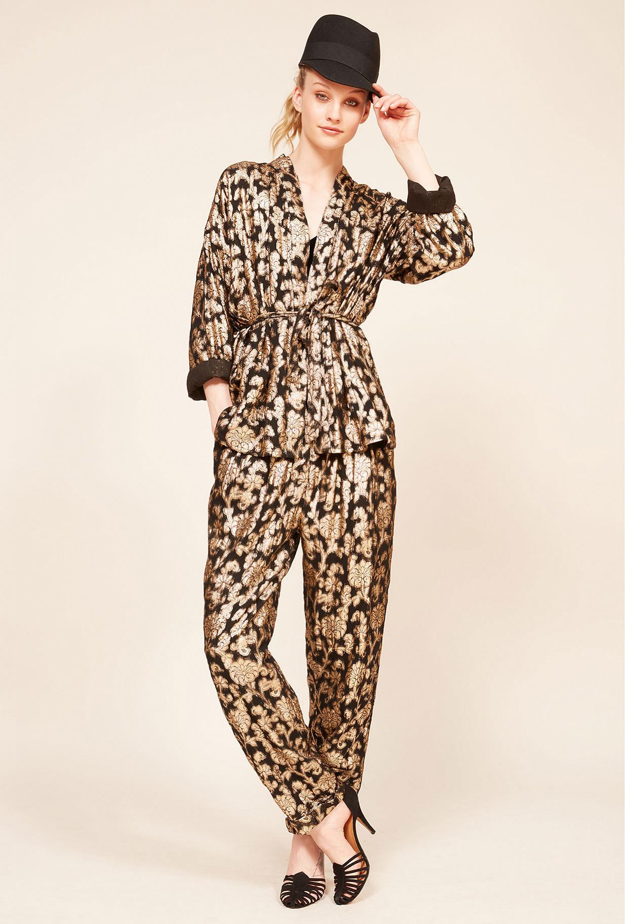 Black  Kimono  Marignan Mes demoiselles fashion clothes designer Paris