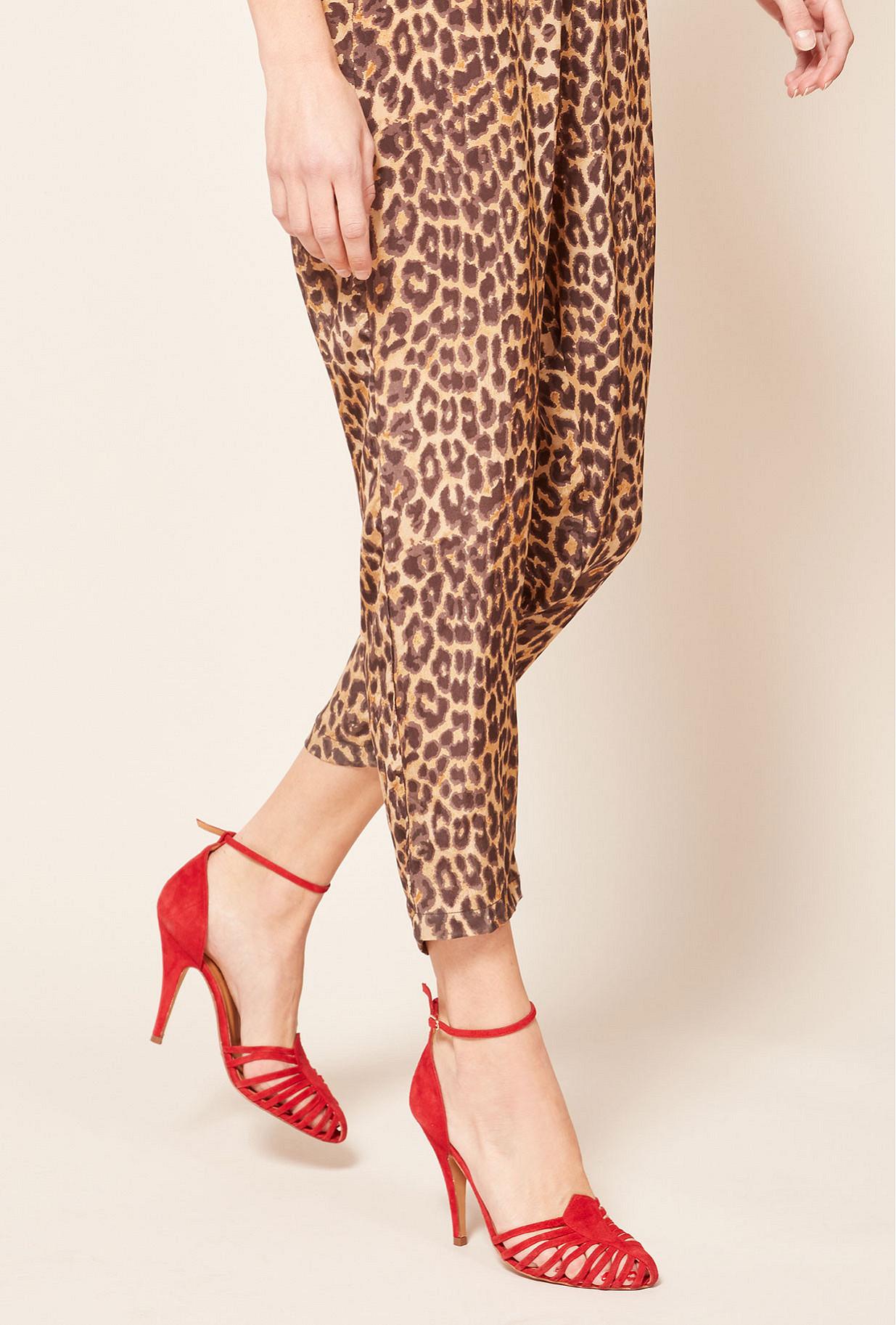 Escarpins Rouge  Venitiennes mes demoiselles paris vêtement femme paris
