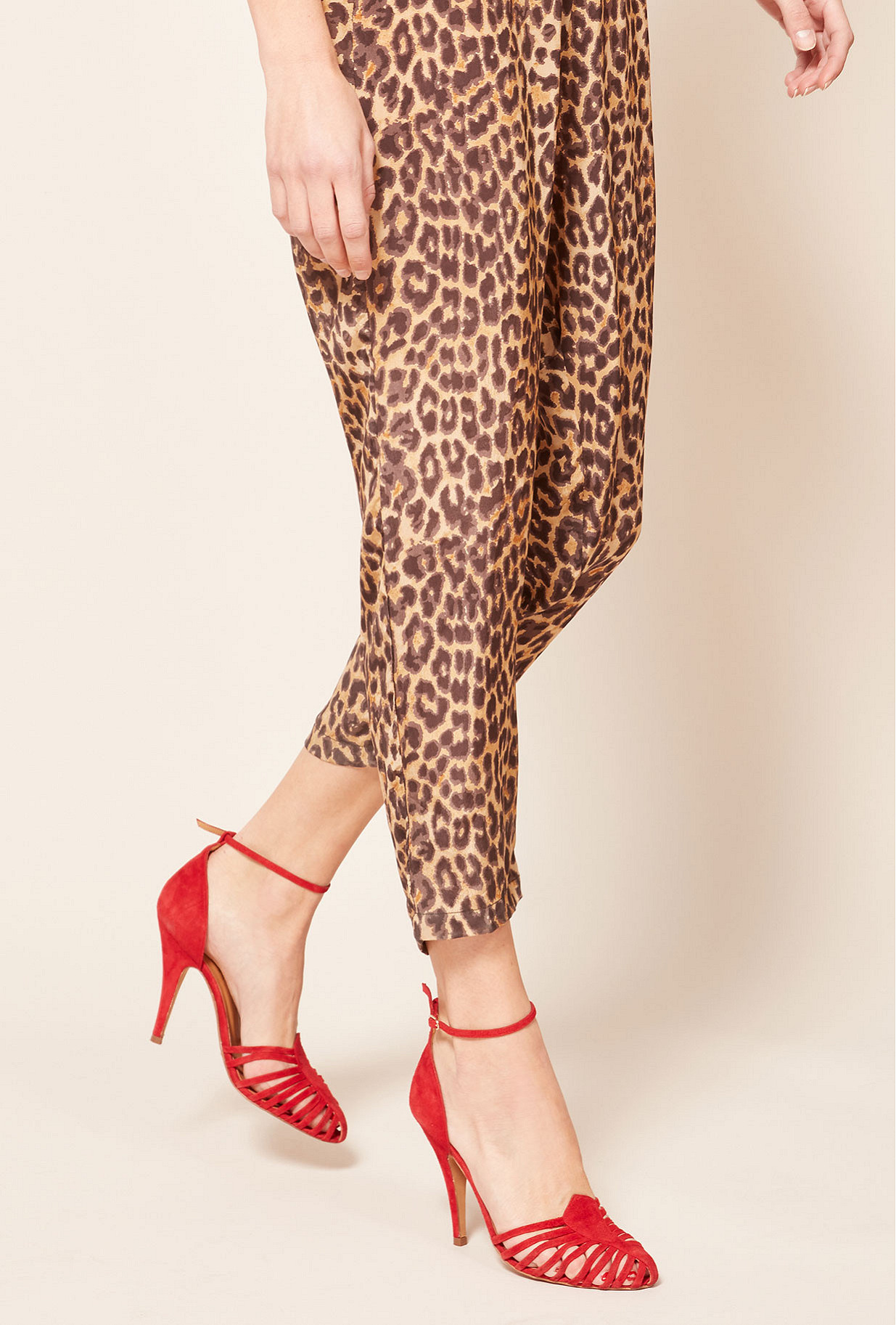 Red  Pumps  Venitiennes Mes demoiselles fashion clothes designer Paris