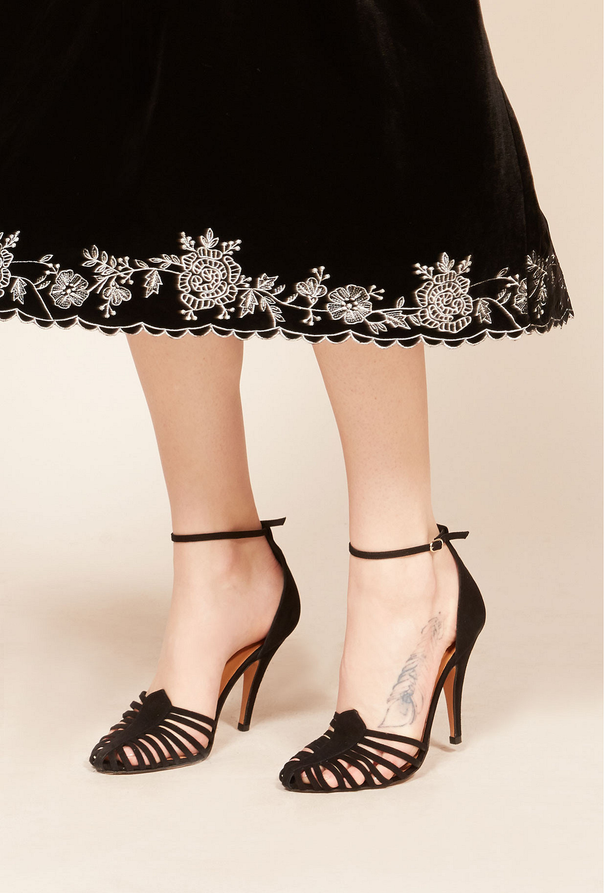 Pumps Venitiennes Mes Demoiselles color Black