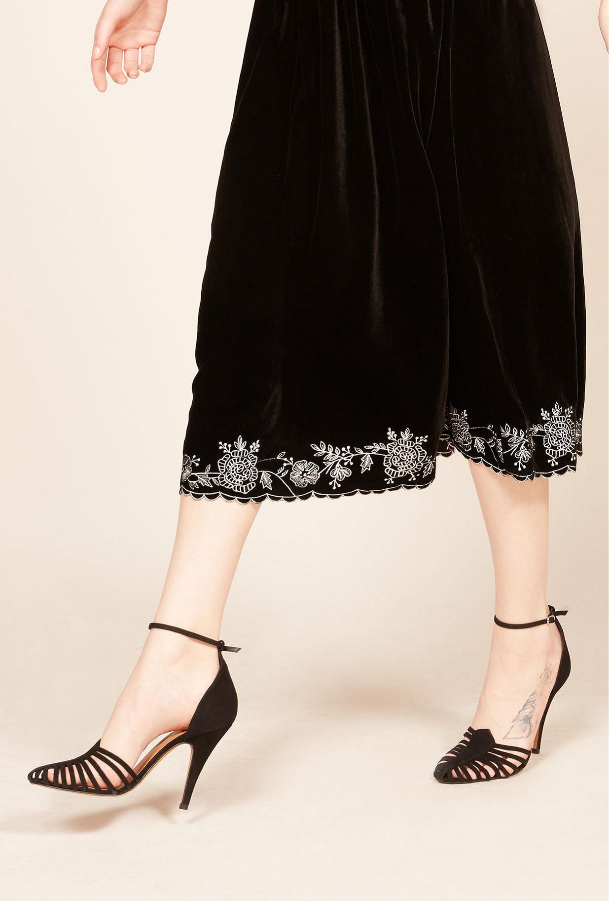 Escarpins Noir  Venitiennes mes demoiselles paris vêtement femme paris