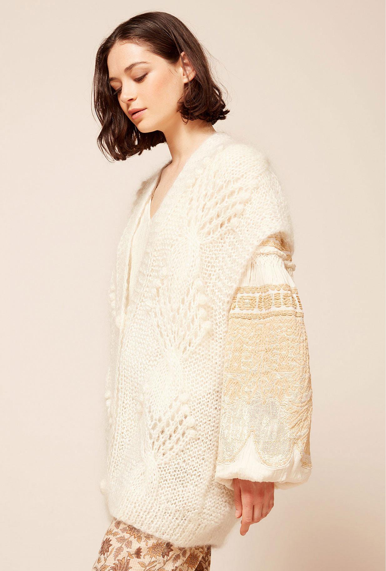 Paris clothes store Cardigan  Clarisse french designer fashion Paris