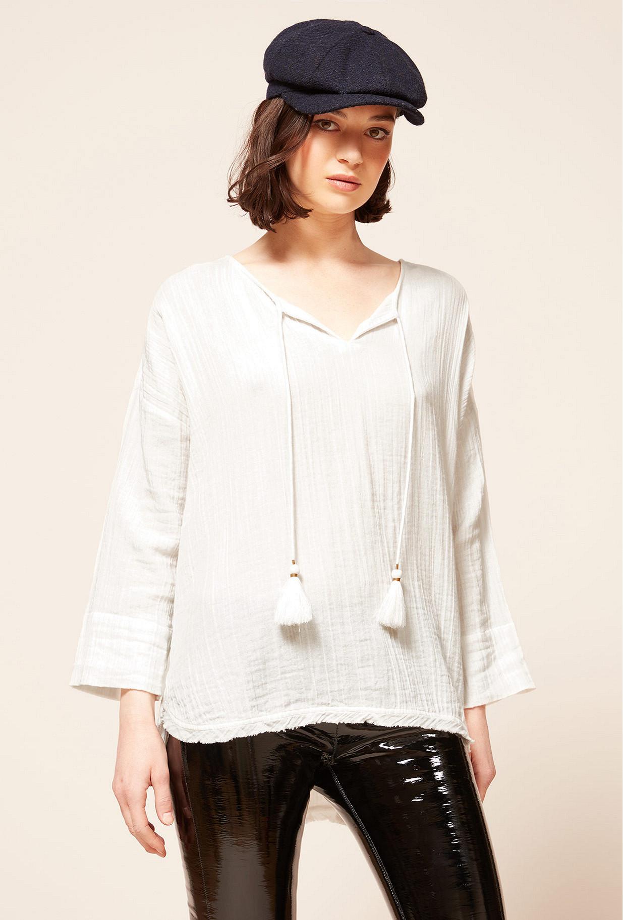 Paris boutique de mode vêtement Blouse créateur bohème  Digest