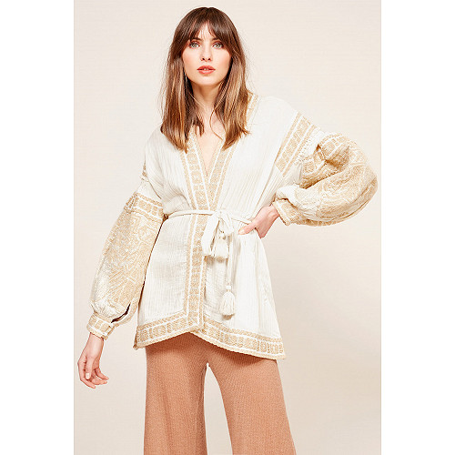 Ecru  Kimono  Kasak Mes demoiselles fashion clothes designer Paris