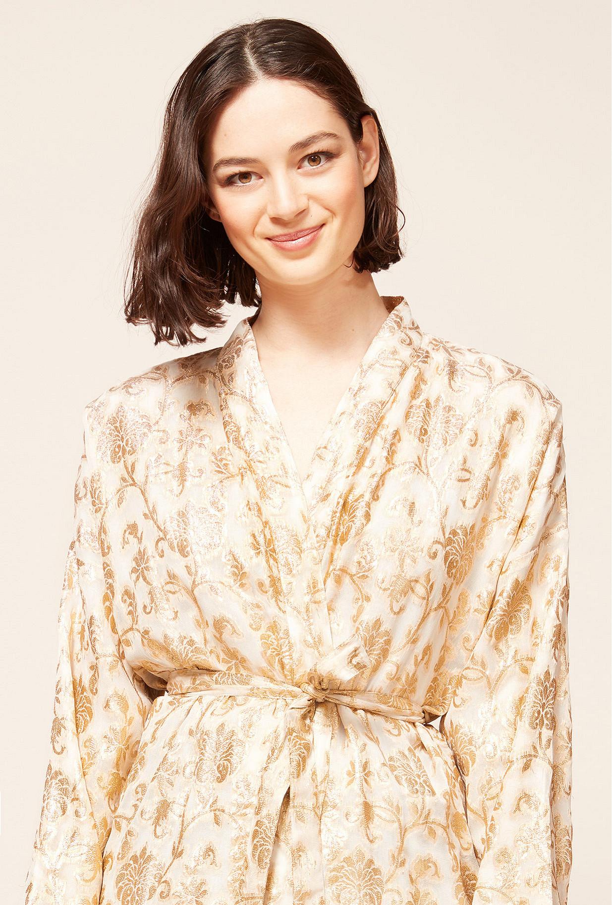 Gold Kimono Marignan Mes Demoiselles Paris