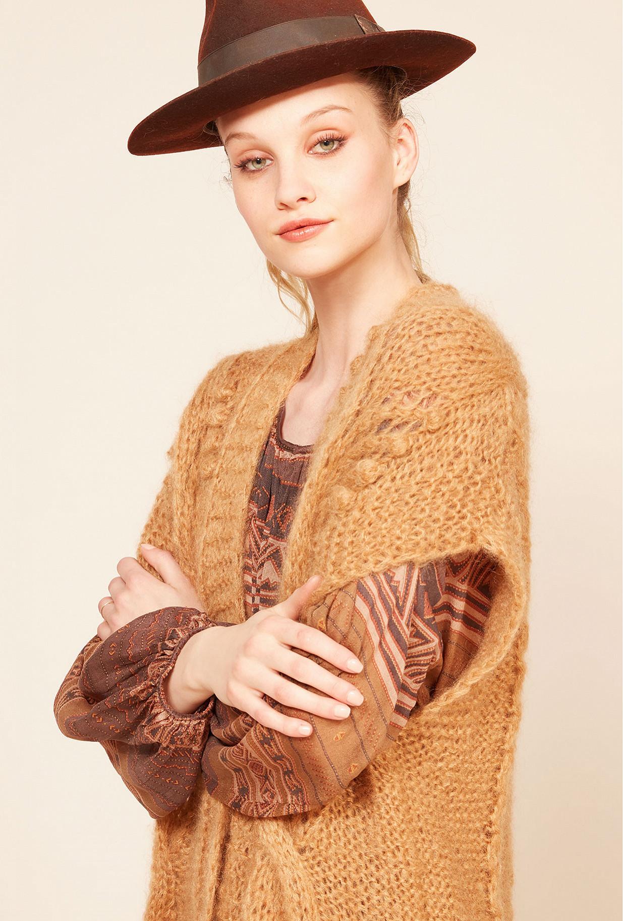 Cardigan  Clarisse Mes demoiselles fashion clothes designer Paris