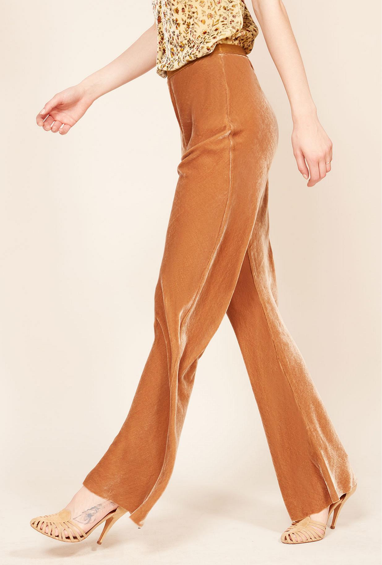 Nude  pant  Slither Mes demoiselles fashion clothes designer Paris