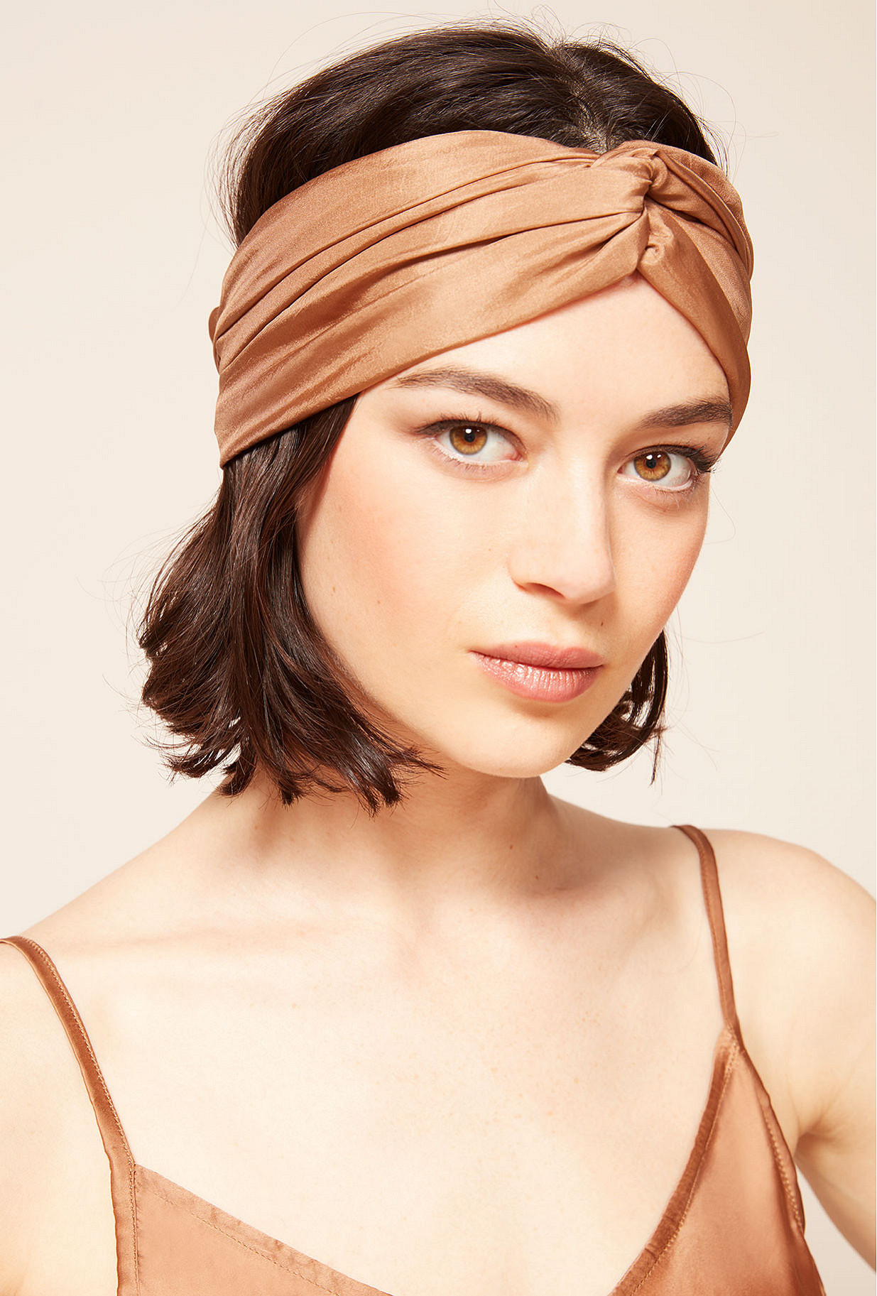 Scarf Merry Mes Demoiselles color Nude