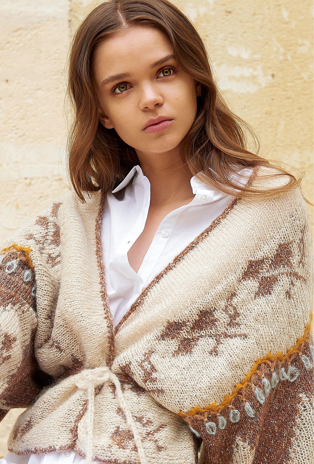 Camel Cardigan Aimara Mes Demoiselles Paris