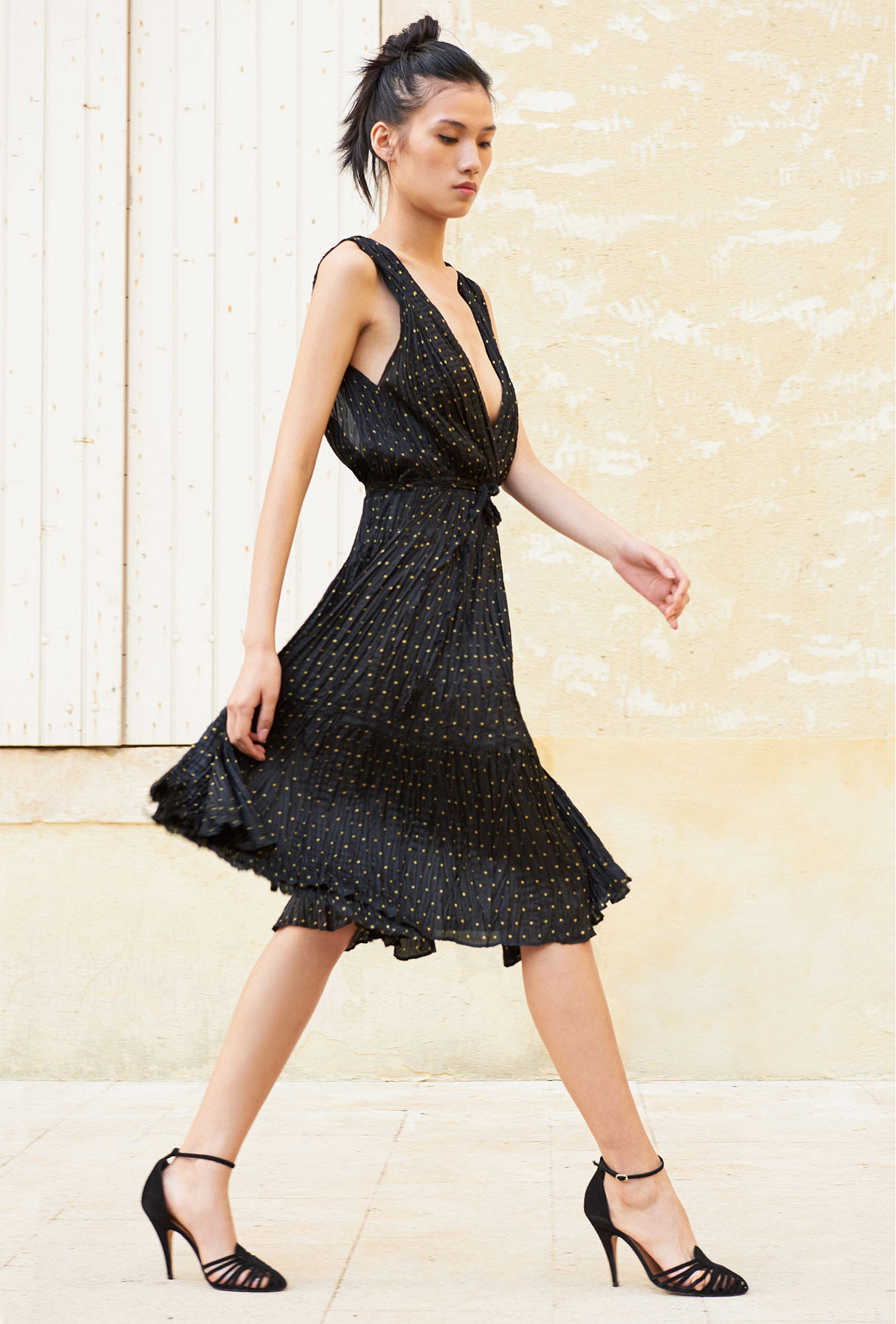 Paris clothes store Dress  Balsan french designer fashion Paris