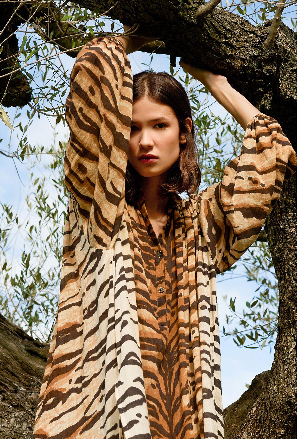 Tiger Dress Bangla Mes Demoiselles Paris