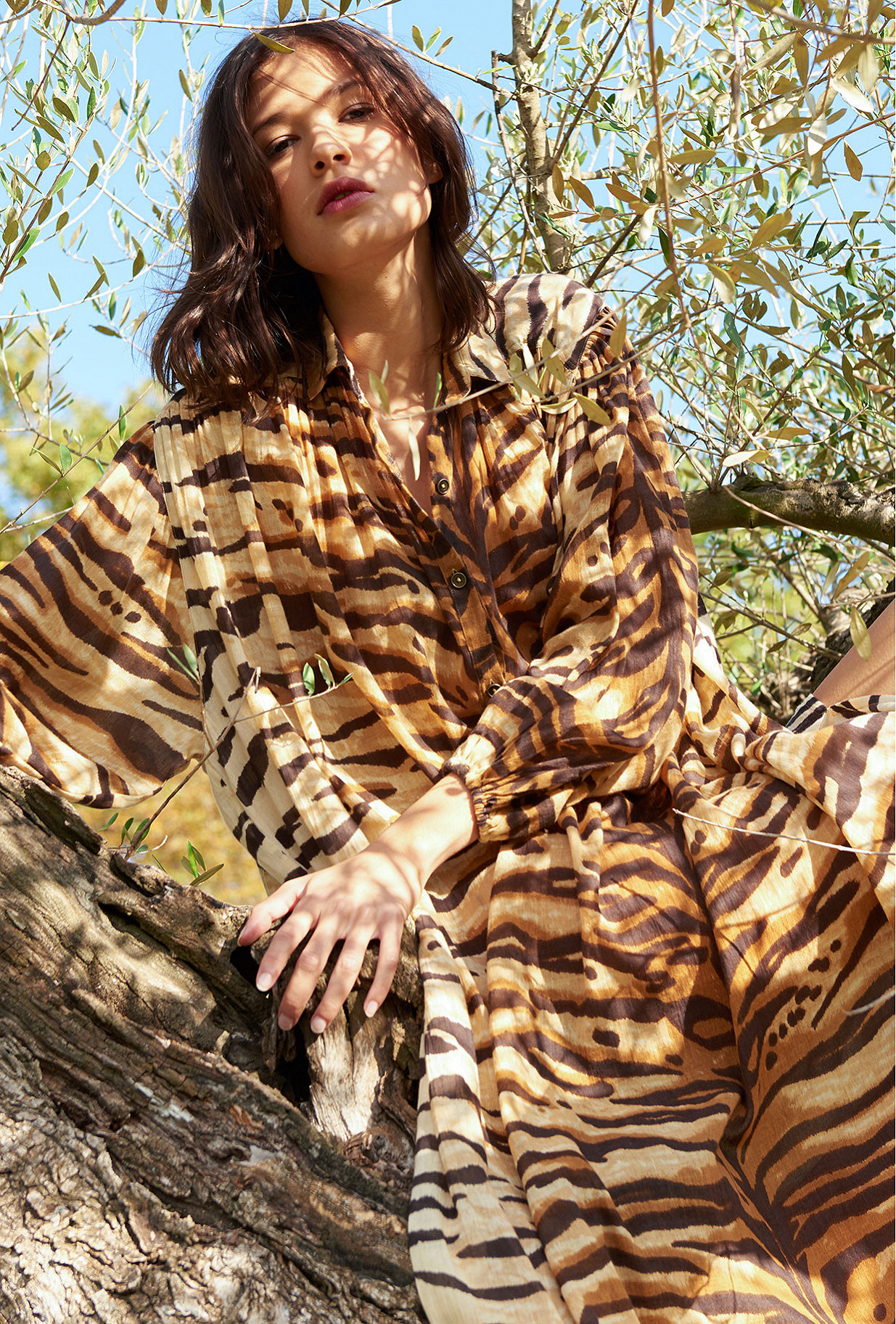 Robe Tigre  Bangla mes demoiselles paris vêtement femme paris