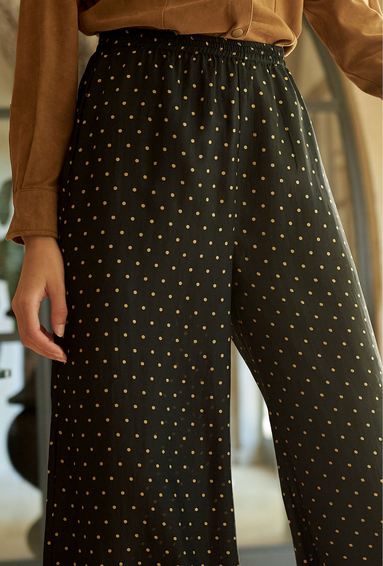 Pantalon Biga Mes Demoiselles coloris Noir