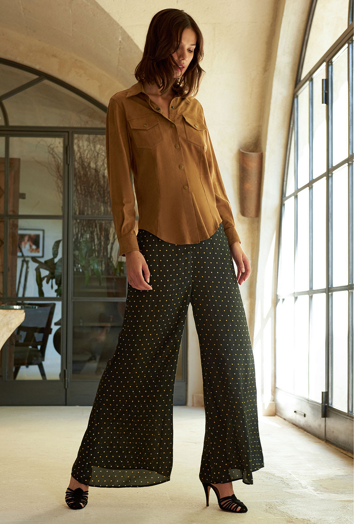 Pant Biga Mes Demoiselles color Black