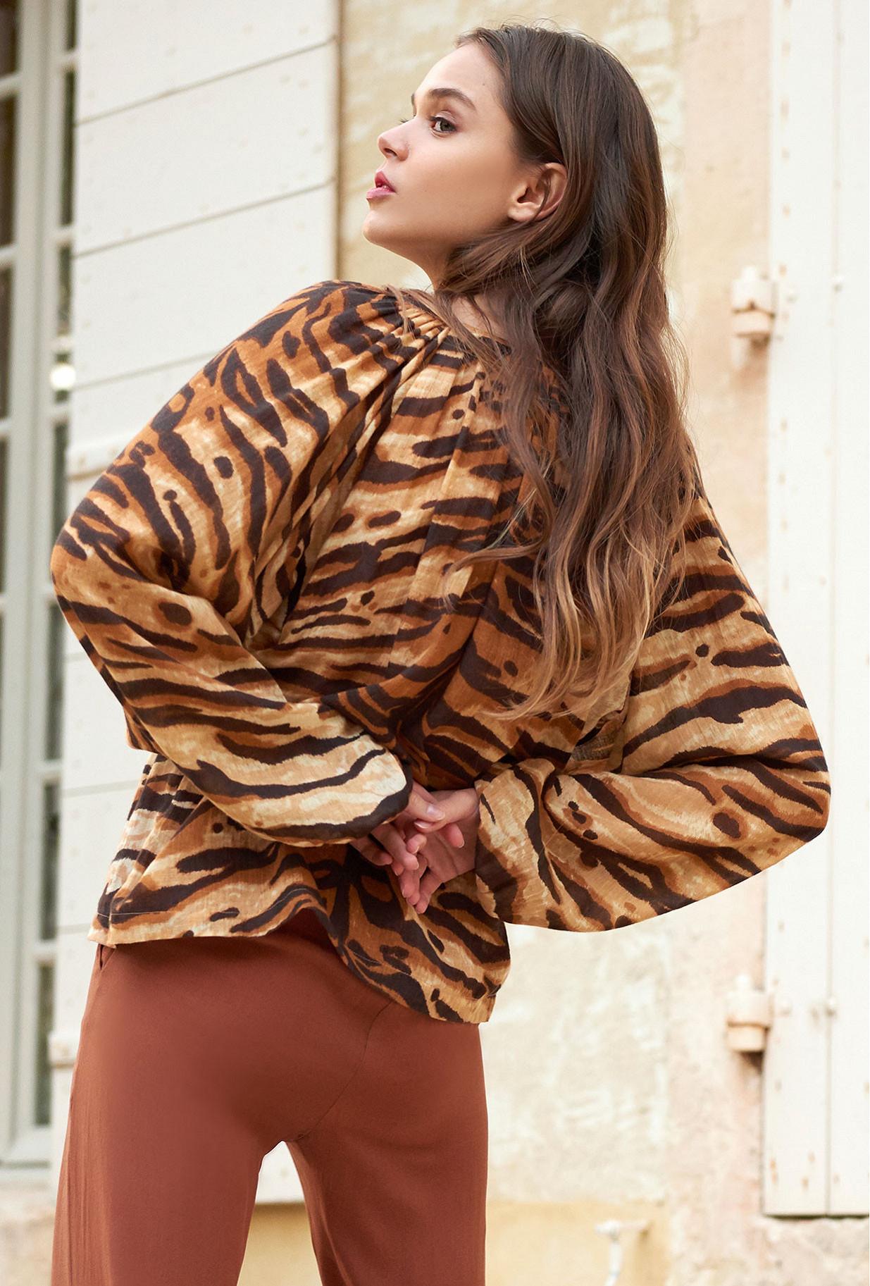 Blouse Tigre  Birmania mes demoiselles paris vêtement femme paris