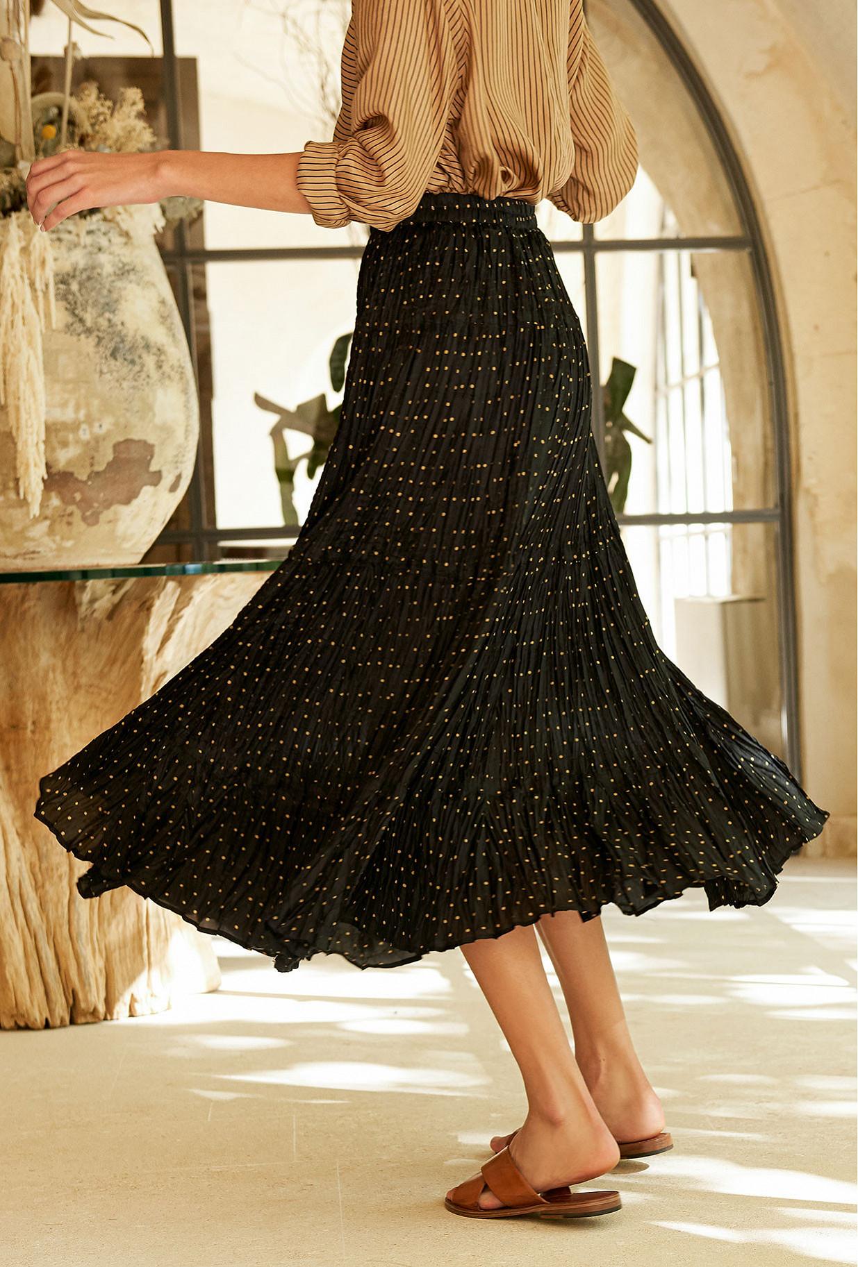 Jupe Noir  Bronislava mes demoiselles paris vêtement femme paris