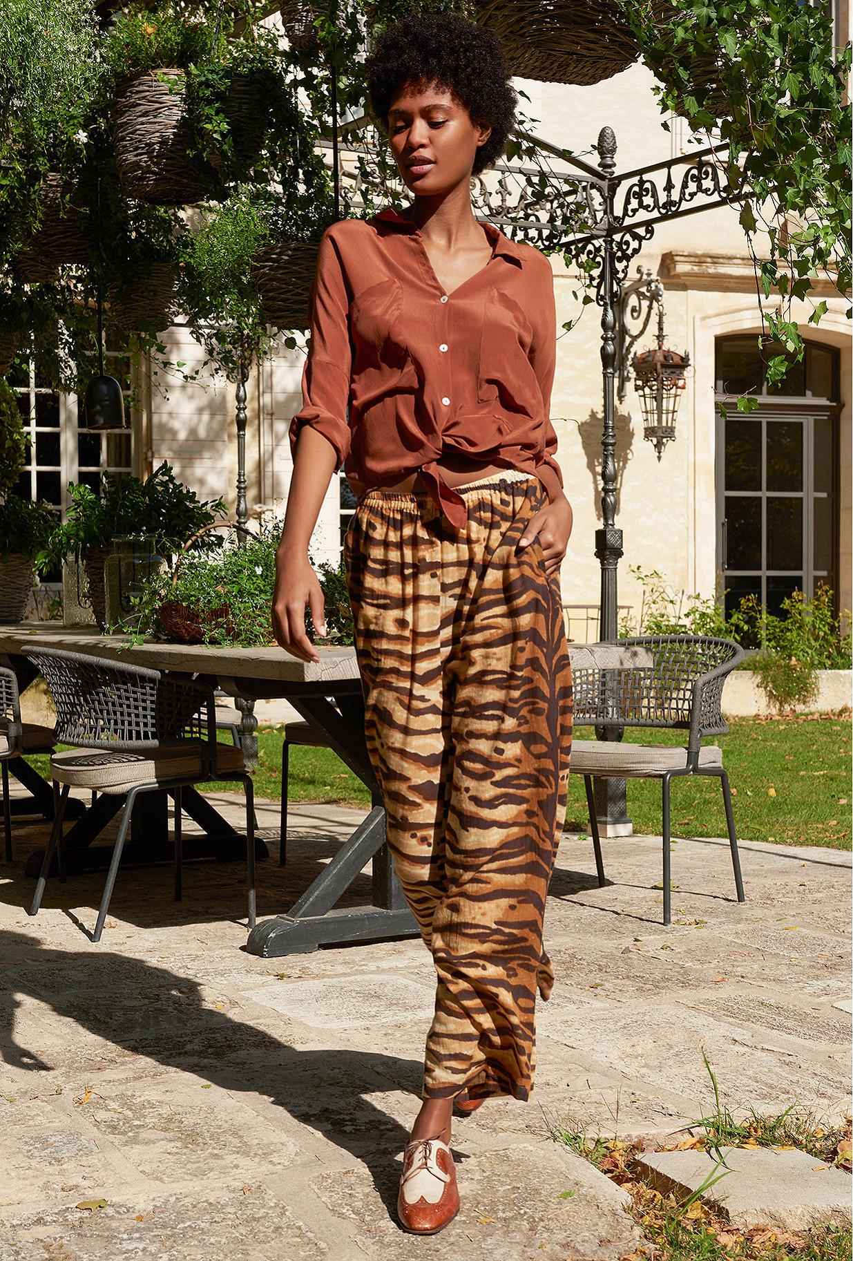 Pantalon Tigre  Butan mes demoiselles paris vêtement femme paris