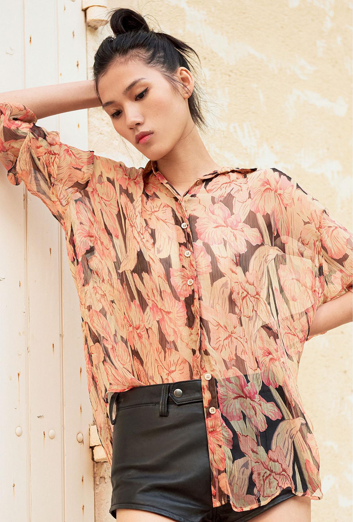 Floral print Shirt Chicory Mes Demoiselles Paris