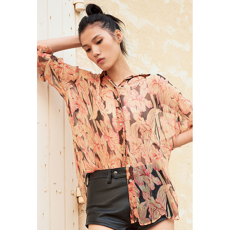 Paris clothes store Shirt  Chicory french designer fashion Paris