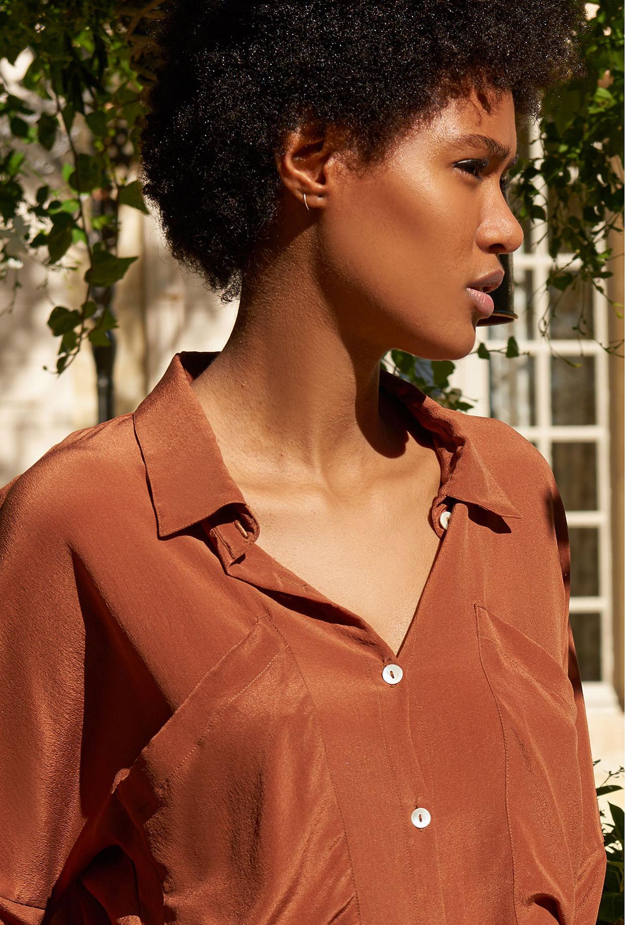 Hazel  Shirt  Exaclibur Mes demoiselles fashion clothes designer Paris
