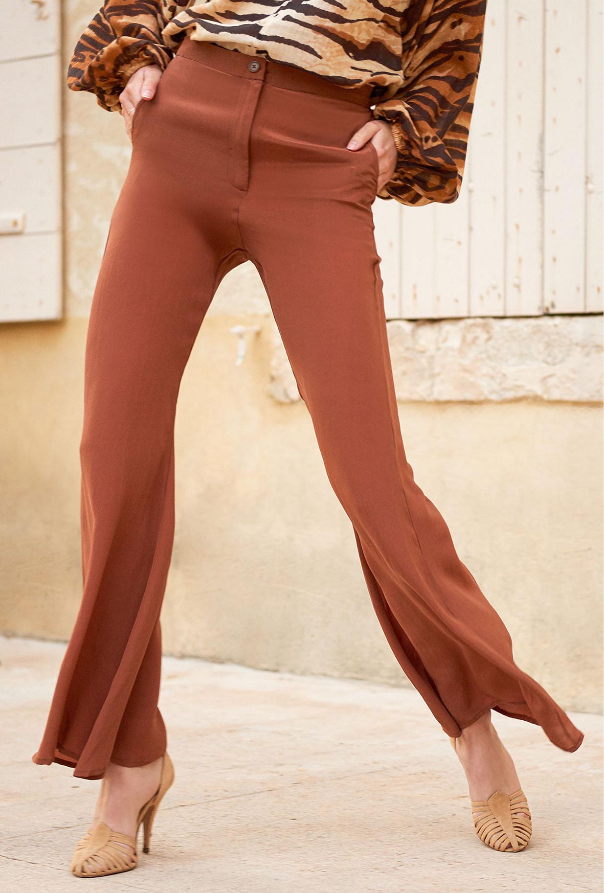 Pantalon Noisette  Express mes demoiselles paris vêtement femme paris