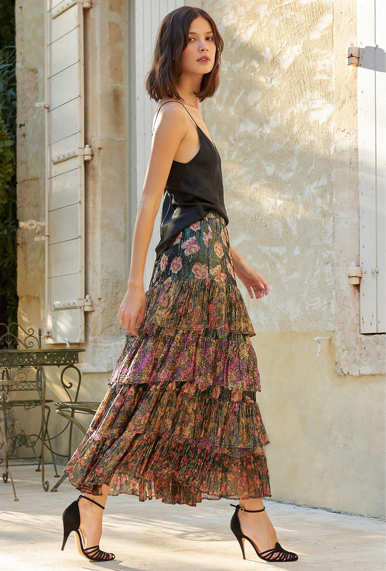 Skirt Falcon Mes Demoiselles color Floral print