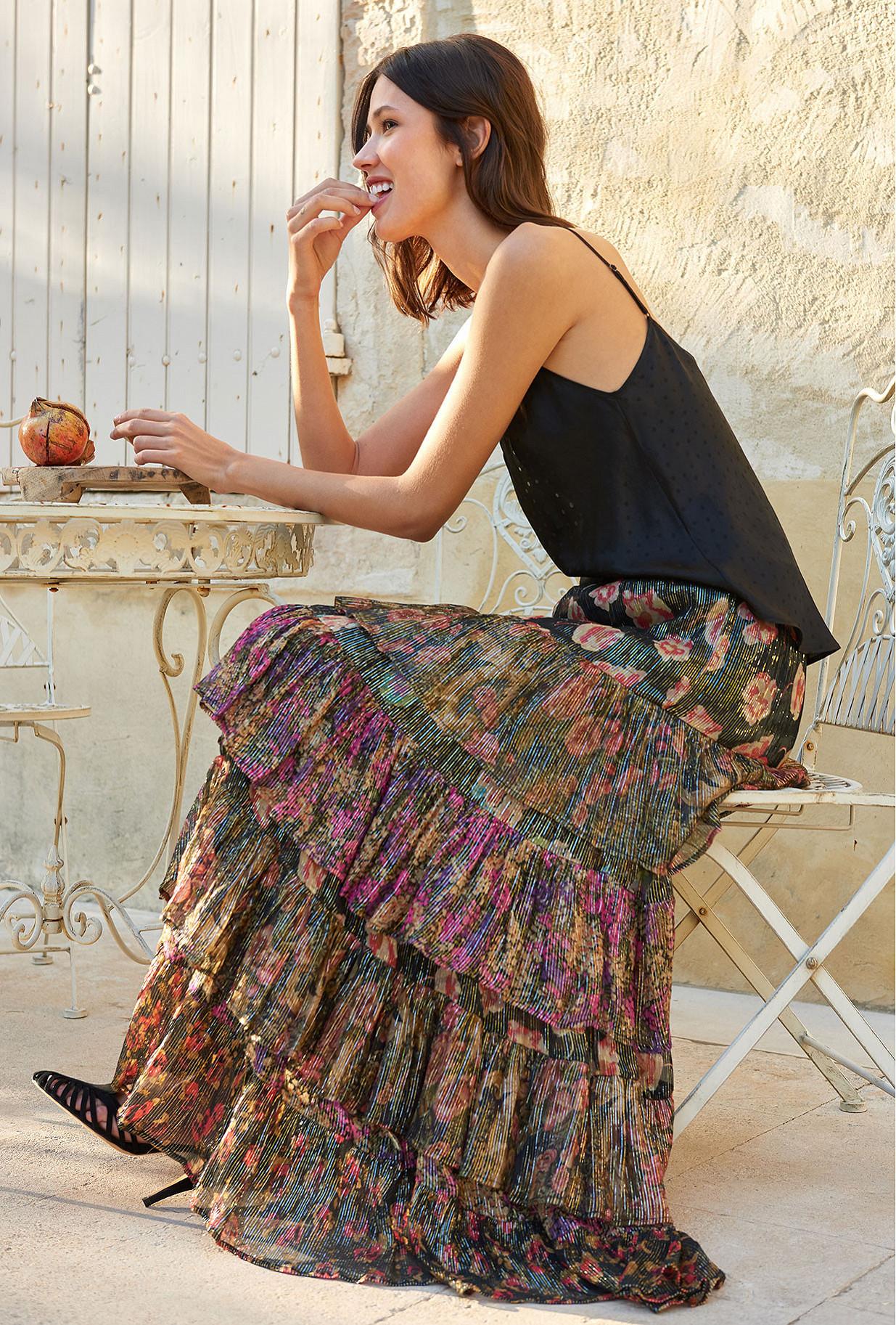 Floral print Skirt Falcon