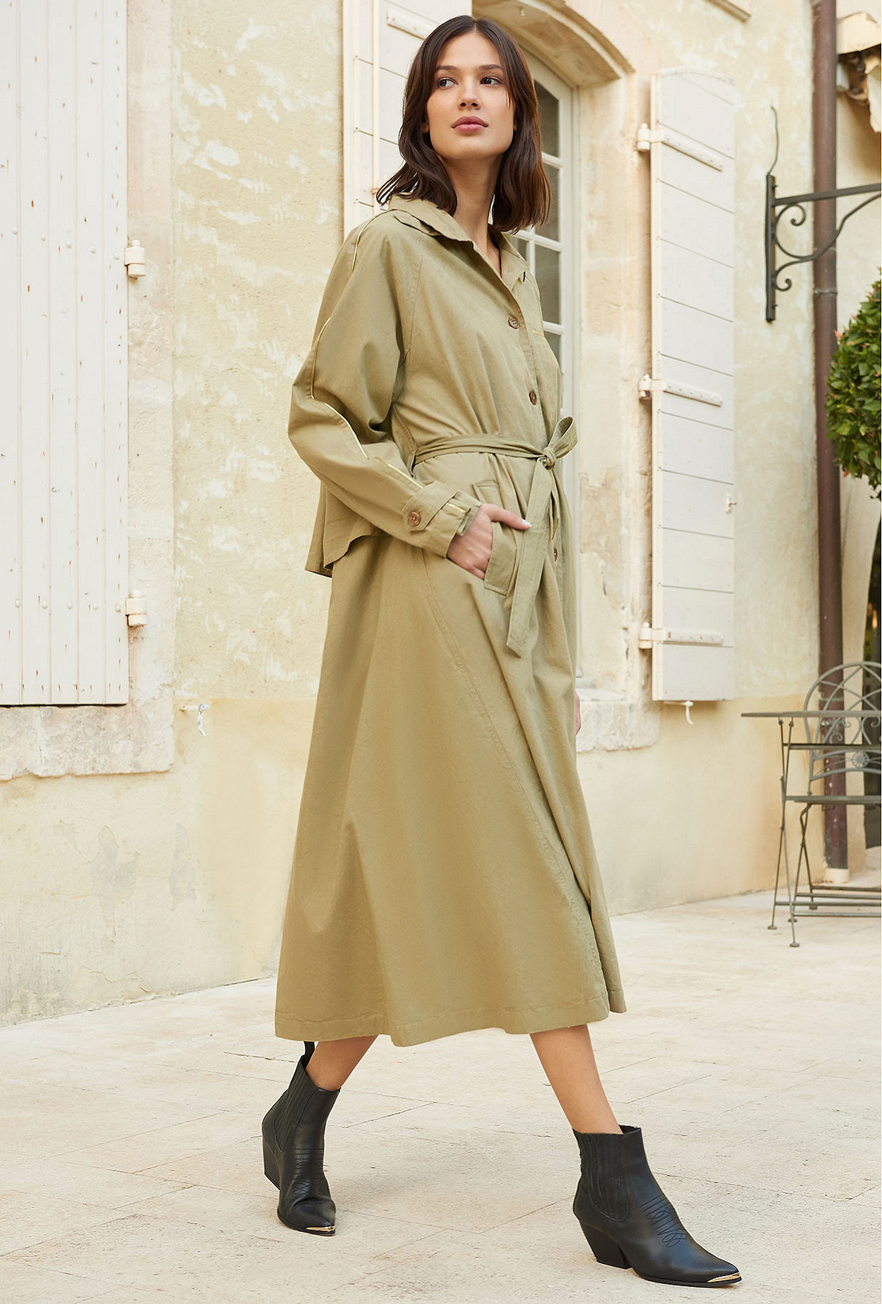Coat Kalahari Mes Demoiselles color Beige