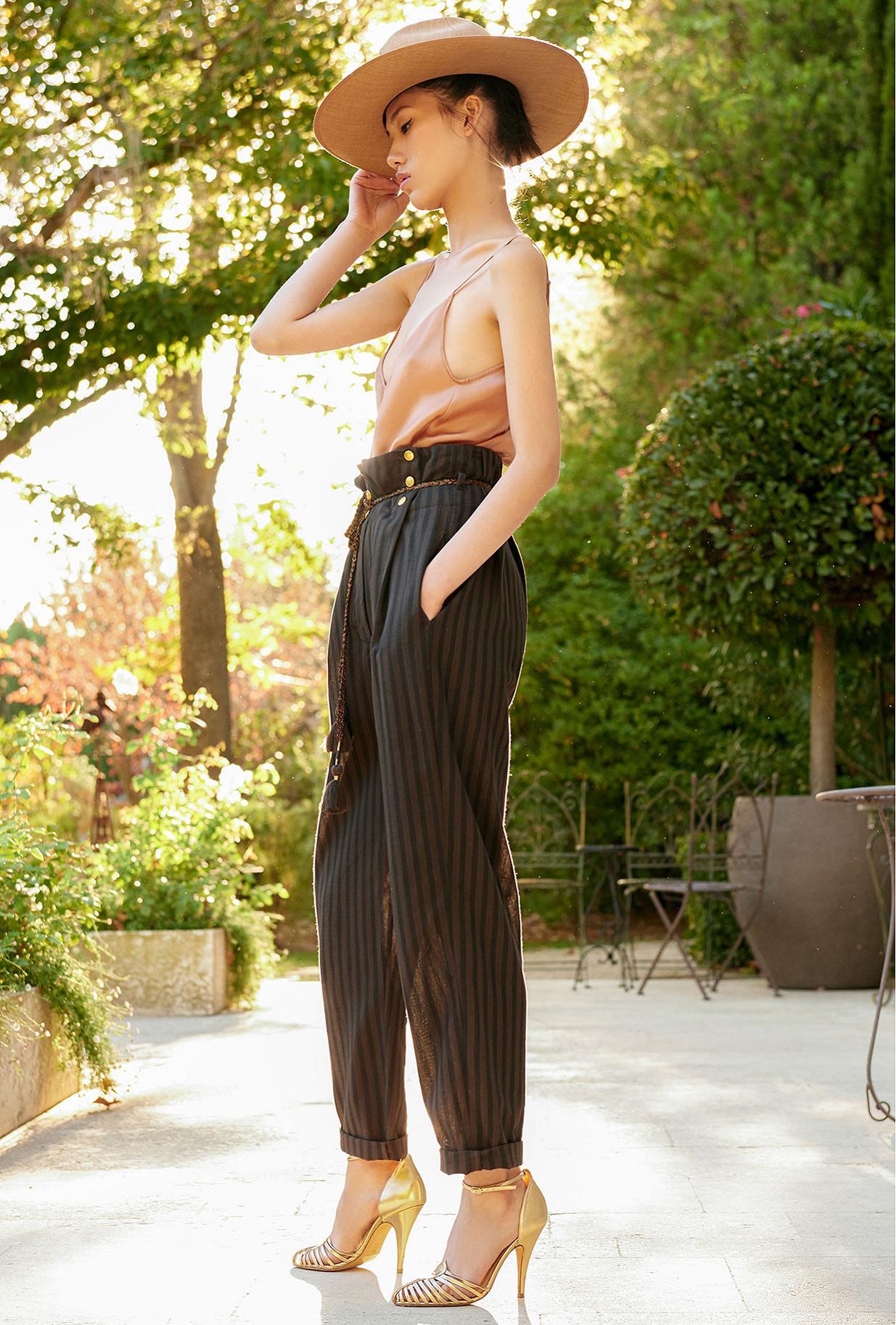 Pantalon Noir Kate