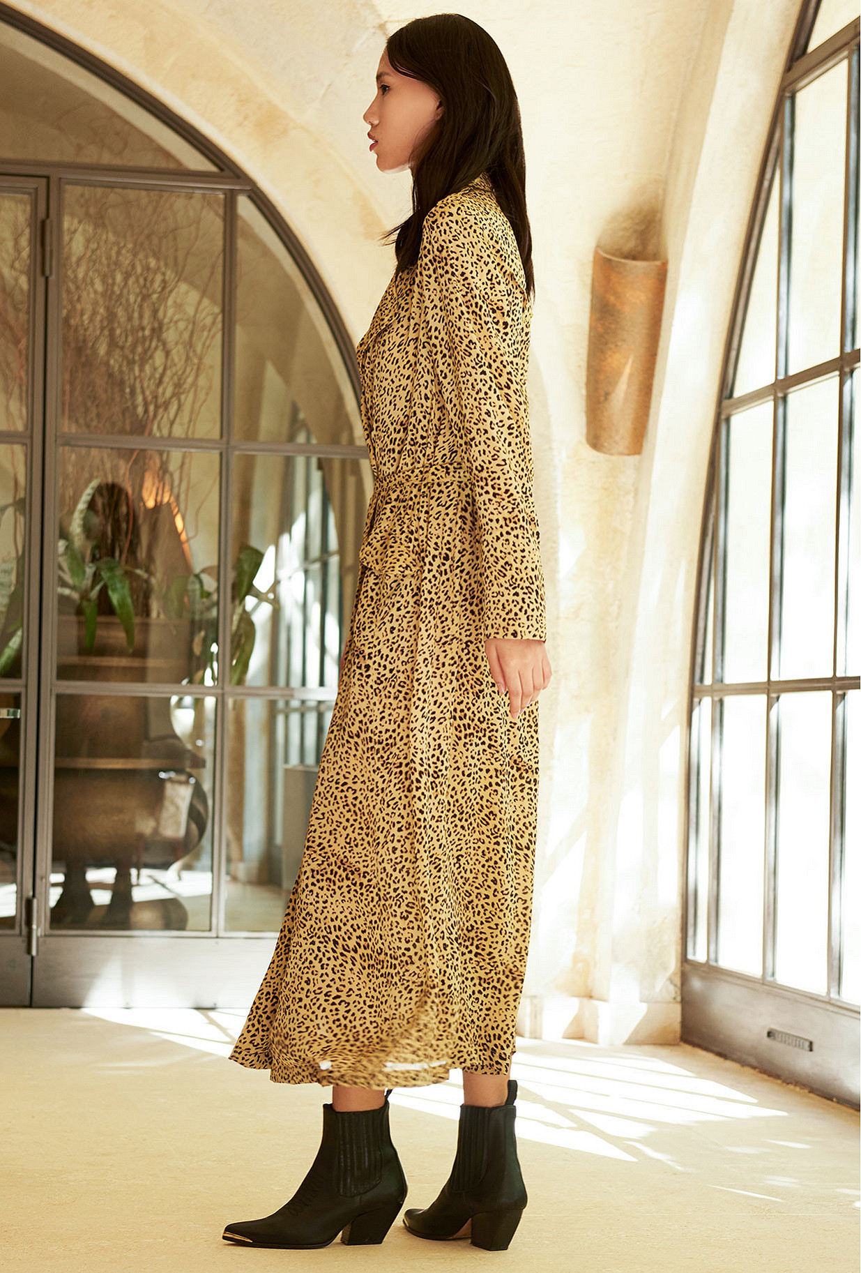 Panther  Coat  Rosita Mes demoiselles fashion clothes designer Paris