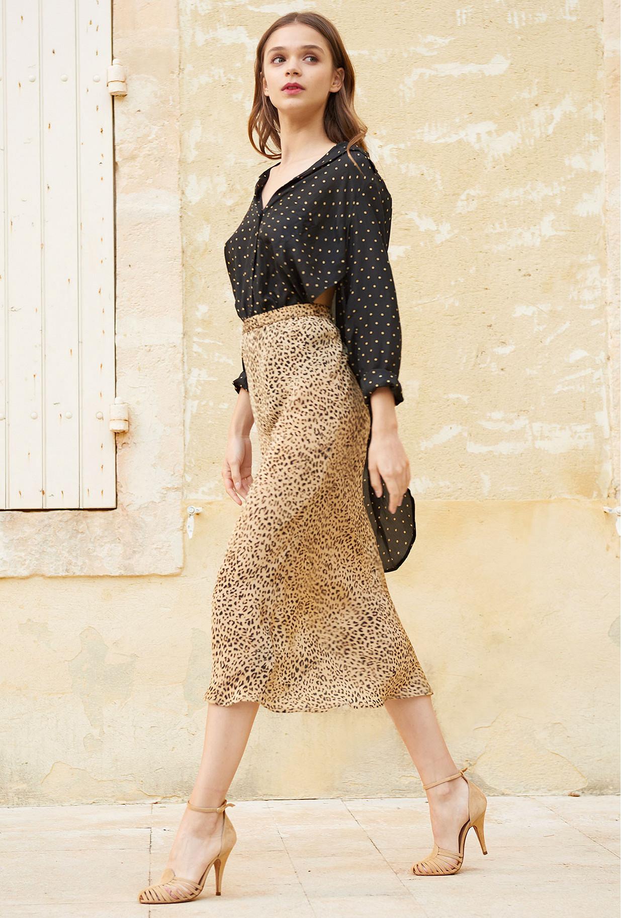 Paris clothes store Skirt  Roseton french designer fashion Paris