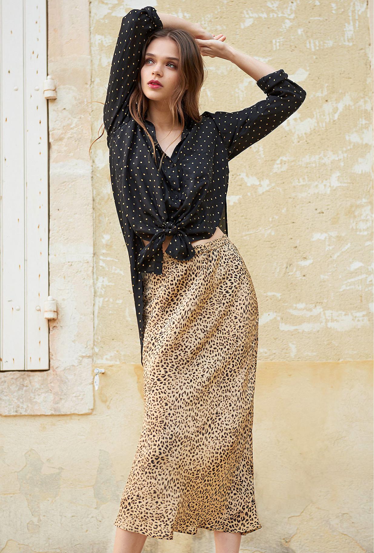 Skirt Roseton Mes Demoiselles color Panther