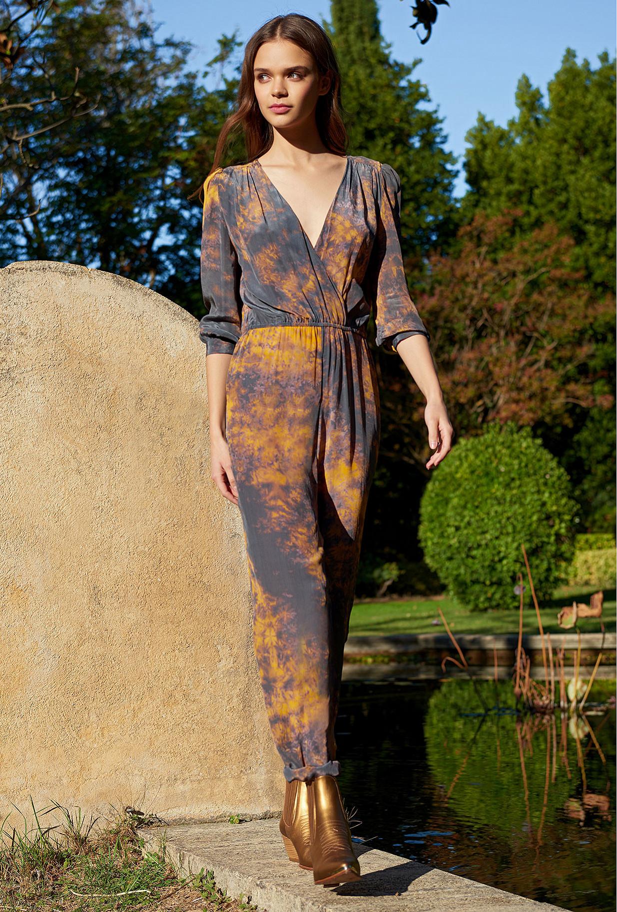 Paris clothes store Jumpsuit  Morpho french designer fashion Paris