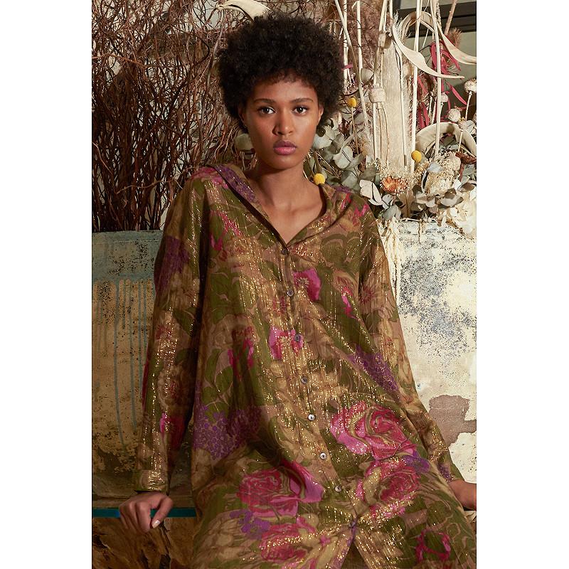 Paris boutique de mode vêtement Chemise créateur bohème  Amaranto
